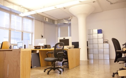 1-2 Desks available in great Ft. Greene office