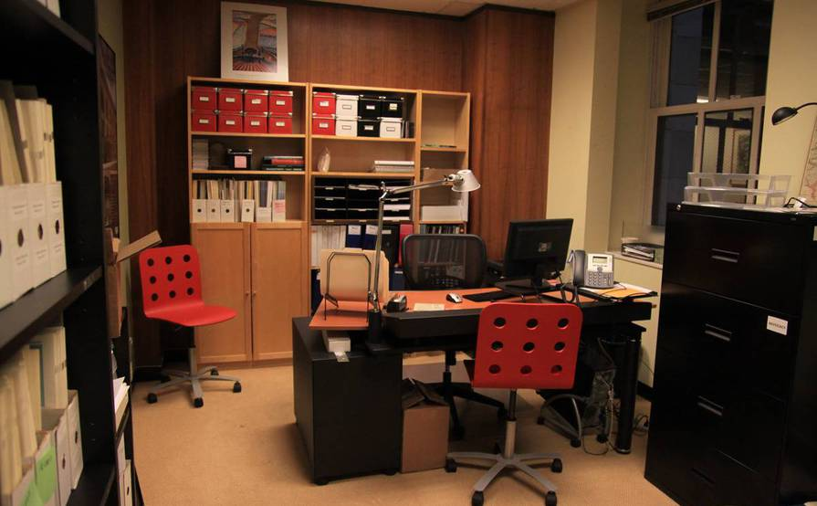 Office with two desks