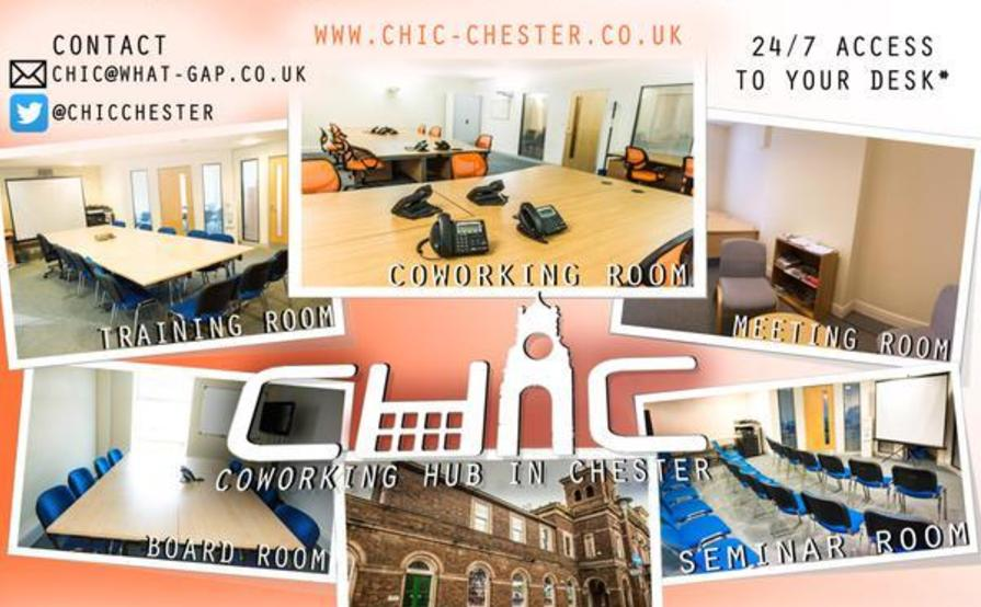 Coworking Hub In Chester
