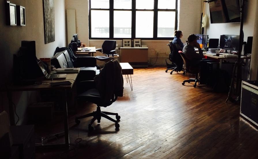 Desks available at Rota6 Studio