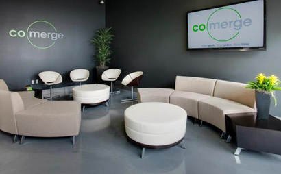Reservable, pay-as-you-go conference rooms; Cafe-style seating for drop-in use; Dedicated desks