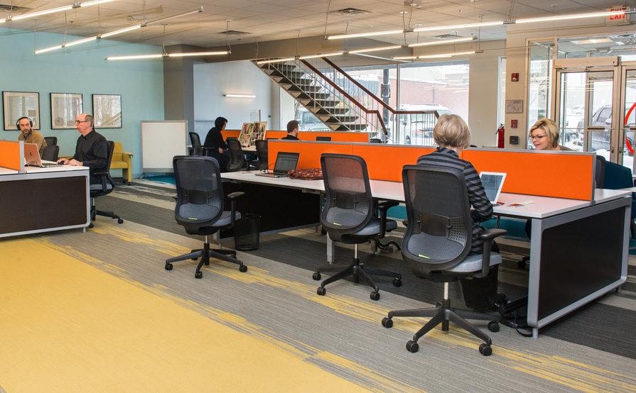 Open Flex Space Desk