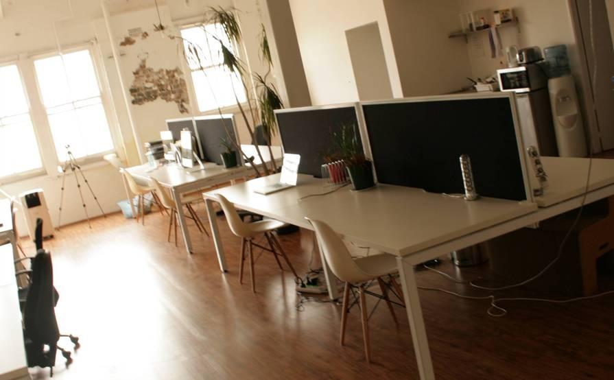 Co-working share, business incubator