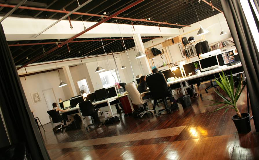 Co-working share, business incubator