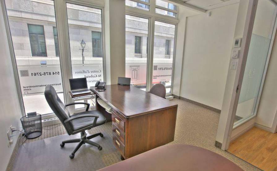 Closed offices to rent in old Montréal * Business Center * Centre D'affaires