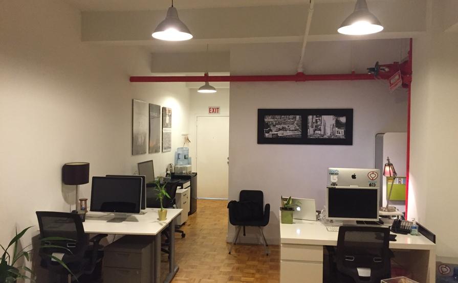 Desk and Conference Room Rentals
