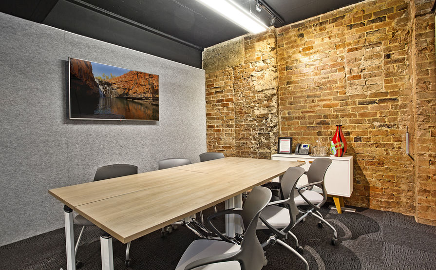 1 to 6 person office space