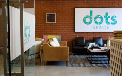 dots SPACE Private Offices, Open Desks, Conference Rooms, Mailbox Services, and Business Concierge