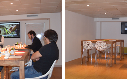 workClub at best location in Madrid; close to Puerta de Alcalá and Retiro park.