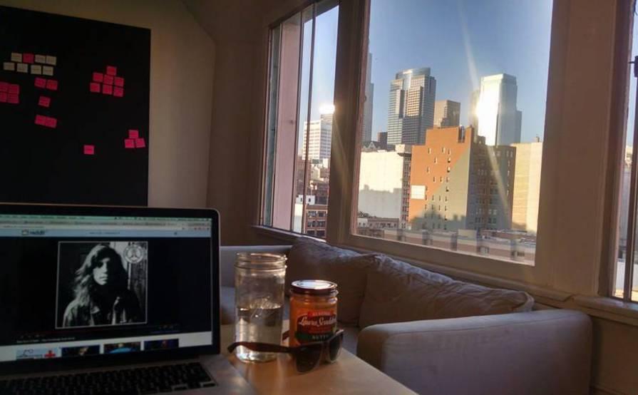 Desk in a Creative Shared Space