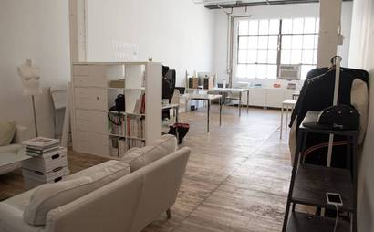 Rent a Desk at Bright Creative Studio in Bushwick near Morgan L