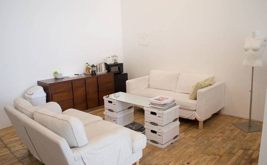 Rent a Desk at Bright Creative Studio in Bushwick near Morgan L