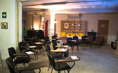 transforma bcn: coworking, events, workshops, bar.