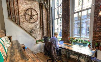 Coworking Desk Space