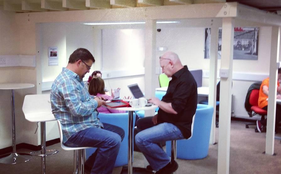 @Work hubs Euston Station - daily desk