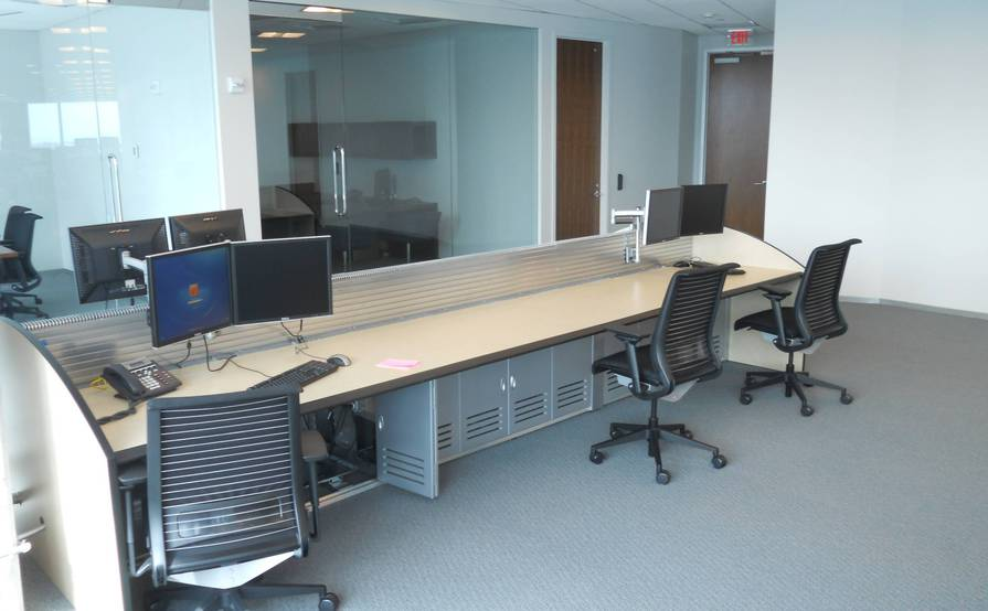 Back office + conference room