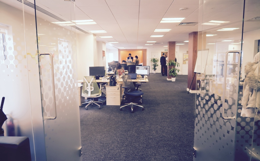 Spacious and vibrant co-working space