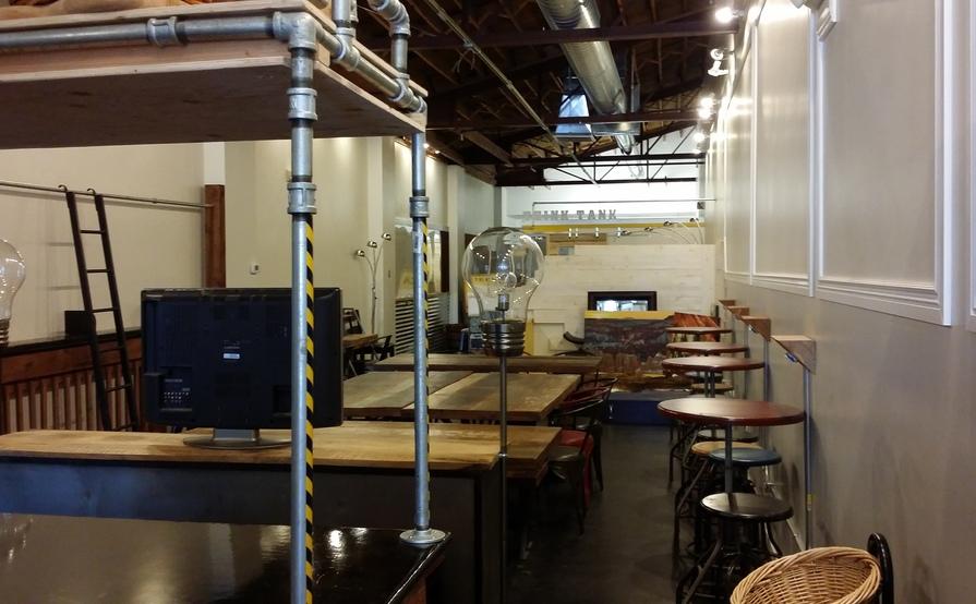 Modern/ Industrial Cowork Space