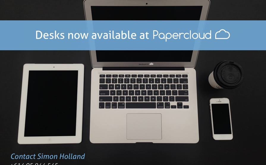 Papercloud desk space