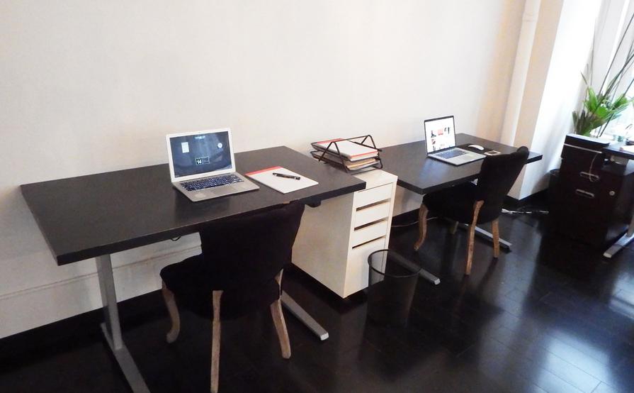 Hot desk / Dedicated desk