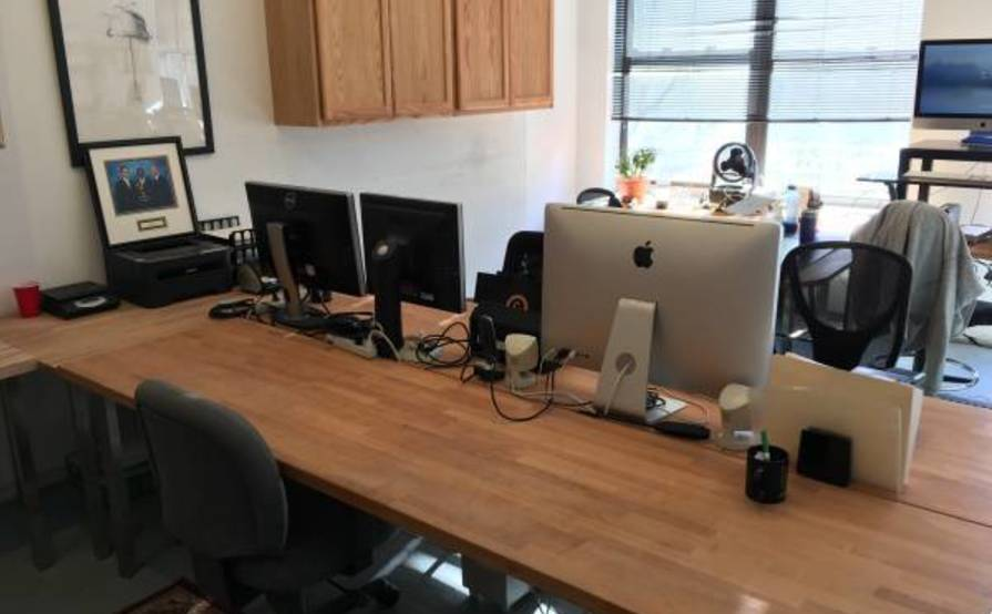 1 - 2 Desks Available in Williamsburg Office