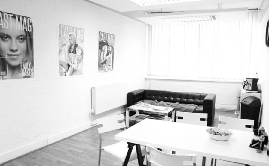 Desk hire, photographic studio hire