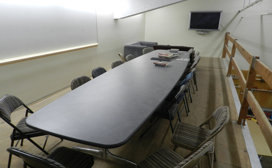 Meeting Room, Conference Room Table, Shared Machinery, Co-Working