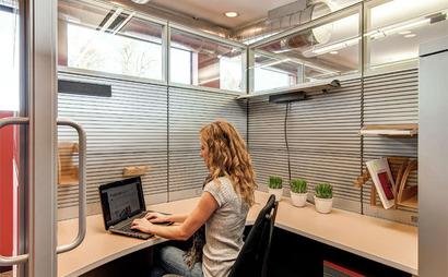 Semi-private office