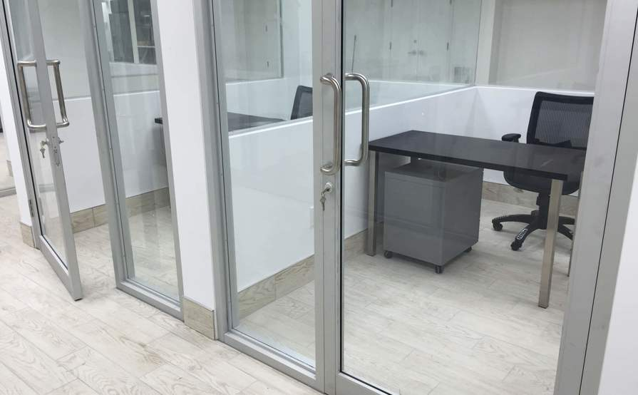 Private Glass Office