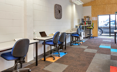 Workspace is a collaborative space in the heart of the Whangarei CBD