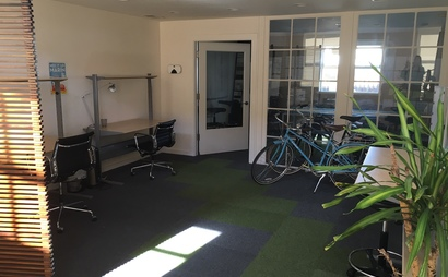 Desks available for rent in beautiful creative studio space