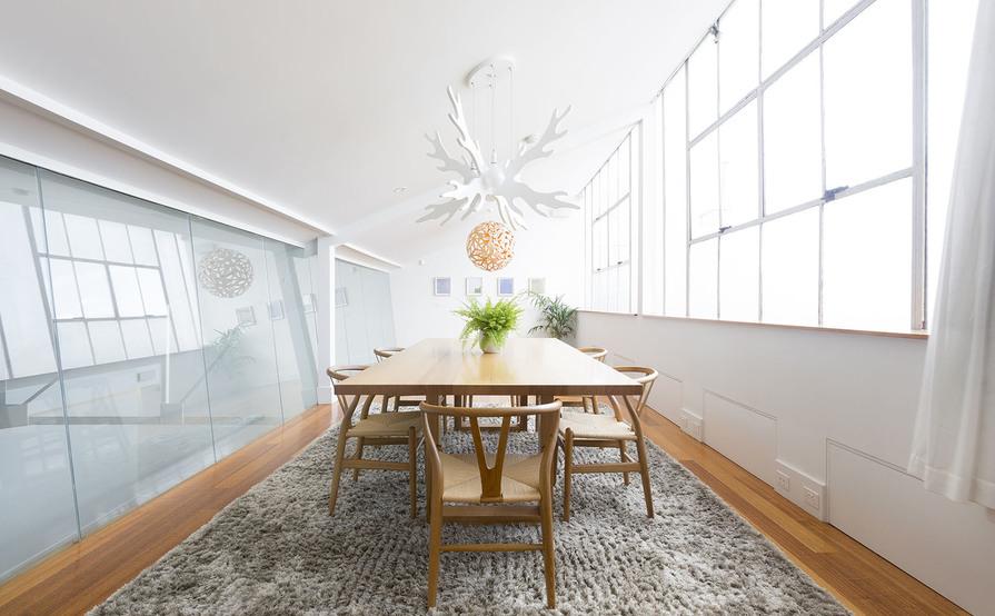 Light-fill Designer Warehouse Office Conversion