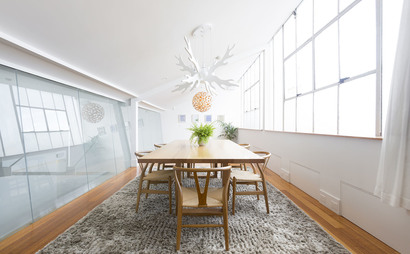 Light-fill Designer Warehouse Office Conversion