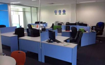 Kensington shared office space