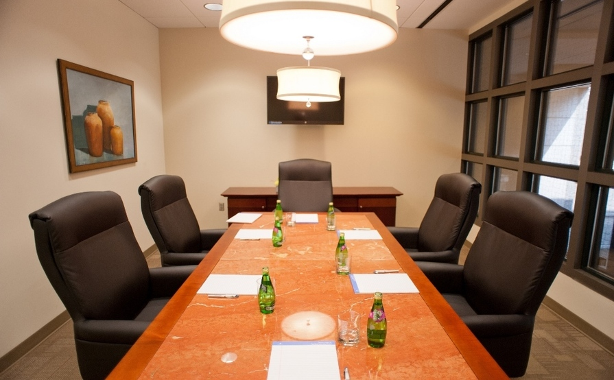 Veranda Executive Boardroom at Peachtree Offices at 1100, LLC.