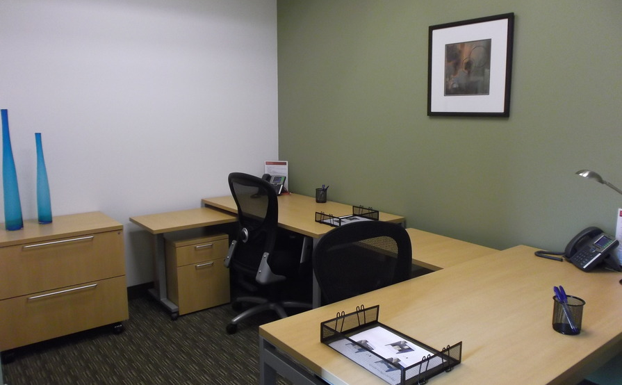 Spacious office for one or two!
