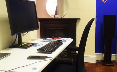 Desk for rent in lovely relaxed office - sharing with only 2 other people