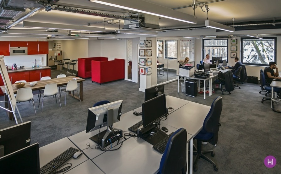 Up to 10 desks sharing with Pocket App in a vibrant and fun office close to Chancery Lane and Farringdon tube. That offers an all inclusive rate - no nasty extras like all the rest - £325 first 3 months then £350.