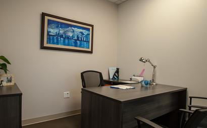 3 Person Interior Office