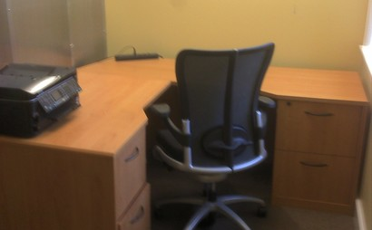 Shared desks, meeting rooms, private offices, and