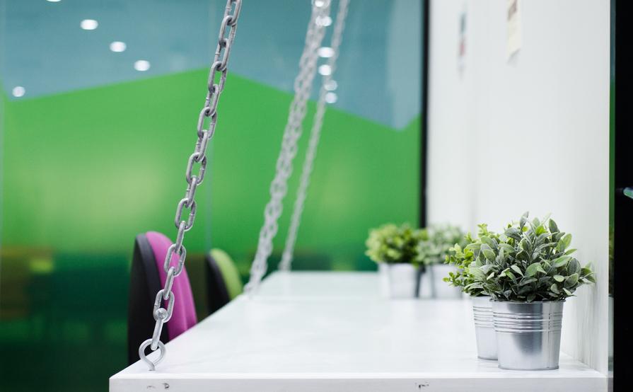 Open Plan Coworking Desks
