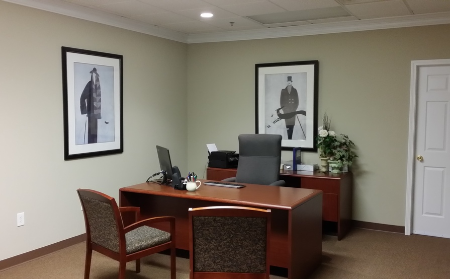 Large furnished offices