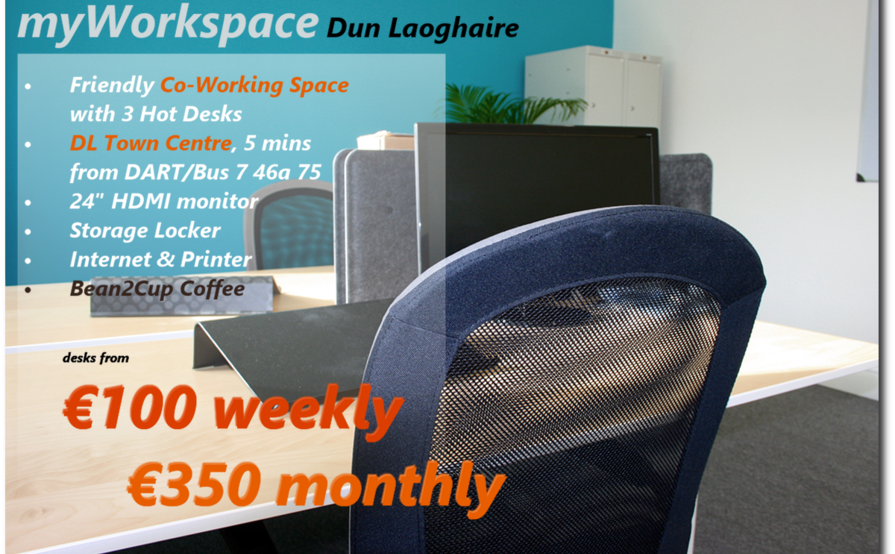 my Workspace Dun Laoghaire