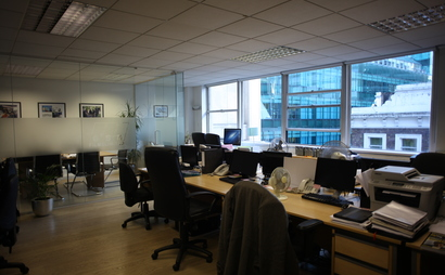 Between one and four desks for hire - Liverpool Street/Barbican