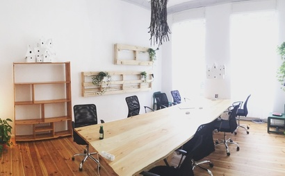 away from the bustle, the pleasant feurigstrasse in schöneberg is tuesday coworking's home