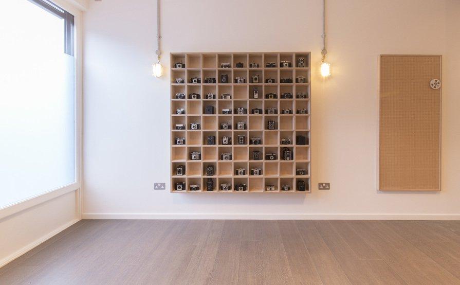 Desks in Creative Studio
