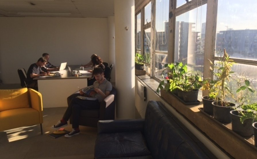 V22 Crown Close *Coworking and Deskspace* with lockers and bookable Showroom in Shoreditch