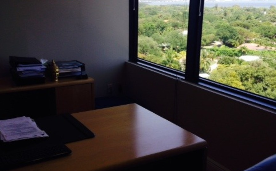 Office Space w/Water View of Biscayne Bay