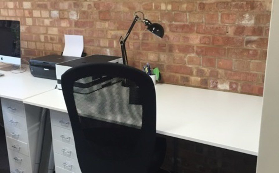 Desk Space just off Hoxton Square