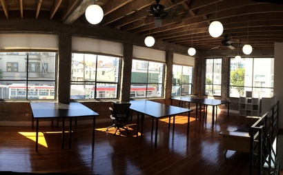 Private space with 8 desks @ Fitmob HQ